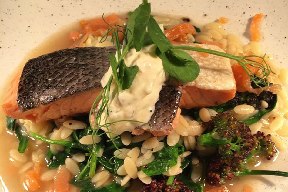 Potager Recipes – Fillet of Smoked Salmon