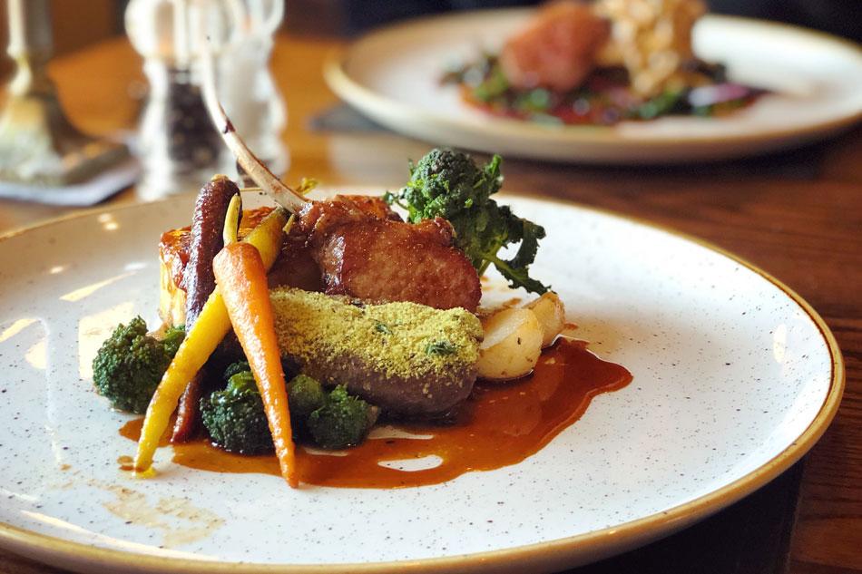 Potager Recipes – Gratin Potato to accompany the Fillet of Lamb