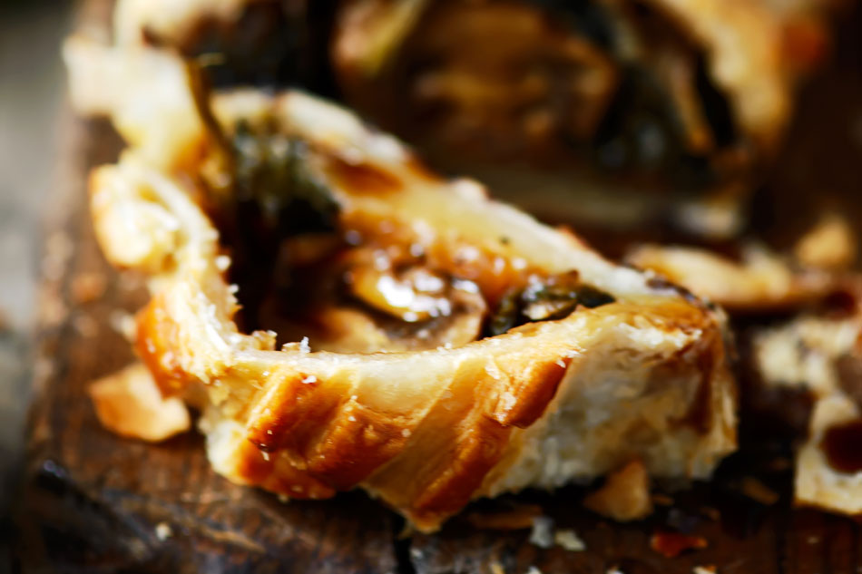 Potager Recipes – Wild Mushroom Wellington